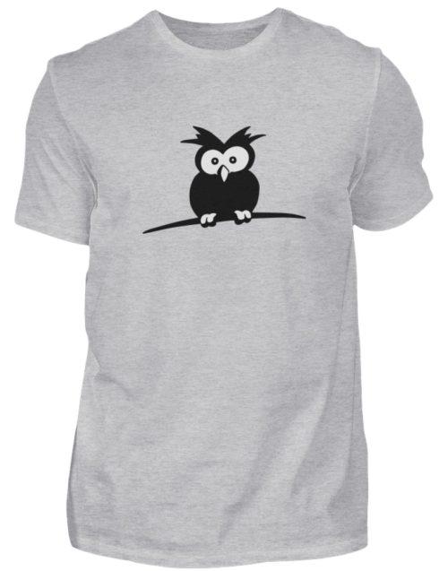 struppige Eule - das Shirt ist ein Muß für alle aufgeweckten Eulen-Fans - Herren Shirt-17