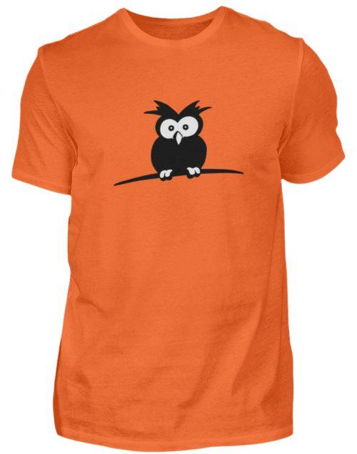 struppige Eule - das Shirt ist ein Muß für alle aufgeweckten Eulen-Fans - Herren Shirt-1692