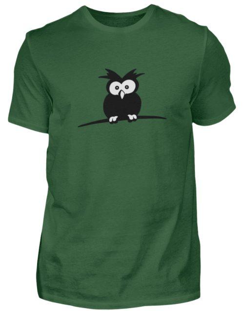 struppige Eule - das Shirt ist ein Muß für alle aufgeweckten Eulen-Fans - Herren Shirt-833