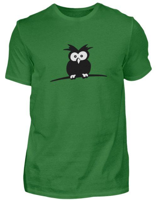 struppige Eule - das Shirt ist ein Muß für alle aufgeweckten Eulen-Fans - Herren Shirt-718