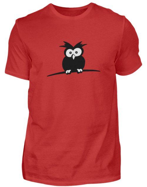 struppige Eule - das Shirt ist ein Muß für alle aufgeweckten Eulen-Fans - Herren Shirt-4