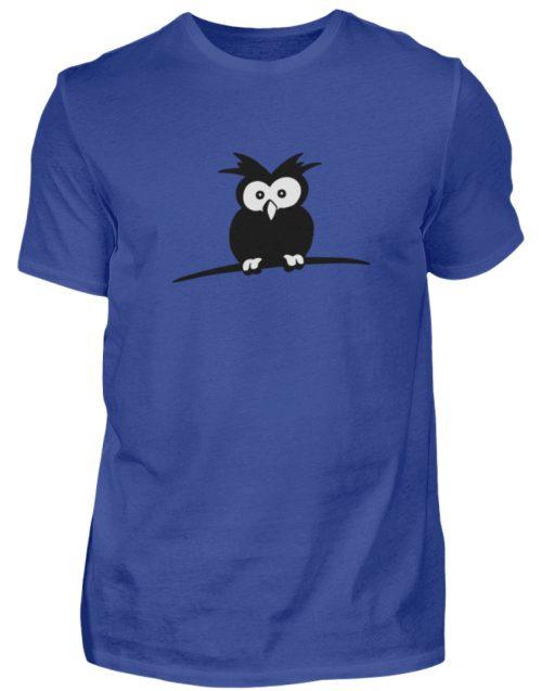 struppige Eule - das Shirt ist ein Muß für alle aufgeweckten Eulen-Fans - Herren Shirt-668