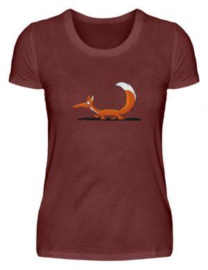 Lässiger cooler Fuchs | Mr. Fox, der Schleicher - Damen Premiumshirt-3192
