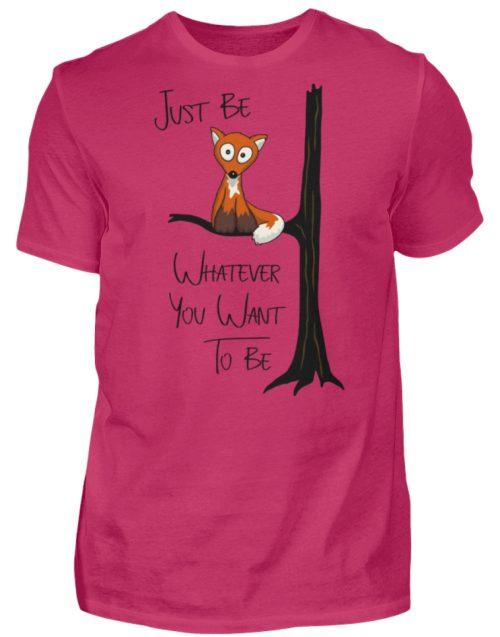 Just Be Whatever | Fuchs wie Eule - Herren Shirt-1216
