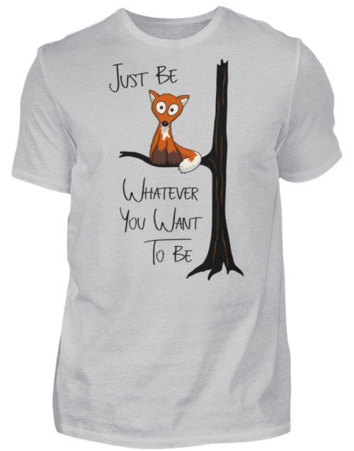 Just Be Whatever | Fuchs wie Eule - Herren Shirt-1157
