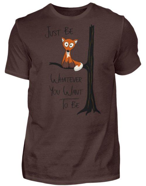 Just Be Whatever | Fuchs wie Eule - Herren Shirt-1074