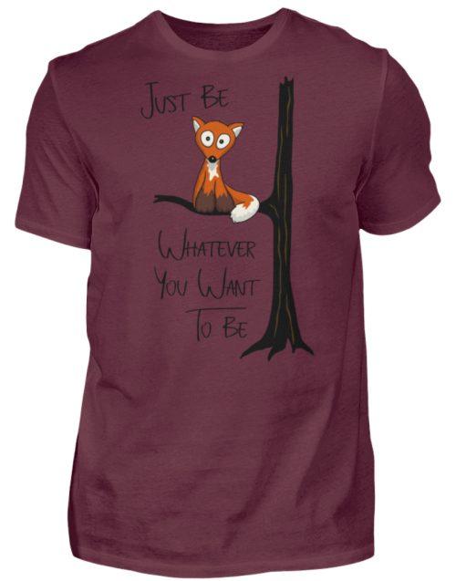Just Be Whatever | Fuchs wie Eule - Herren Shirt-839