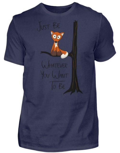 Just Be Whatever | Fuchs wie Eule - Herren Shirt-198