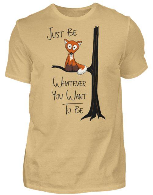 Just Be Whatever | Fuchs wie Eule - Herren Shirt-224
