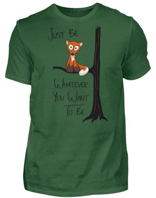 Just Be Whatever | Fuchs wie Eule - Herren Shirt-833