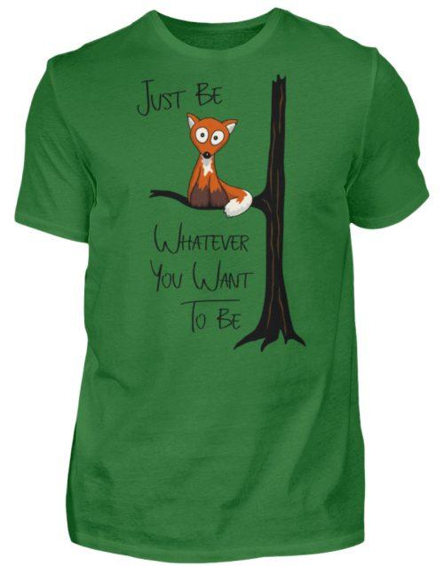 Just Be Whatever | Fuchs wie Eule - Herren Shirt-718
