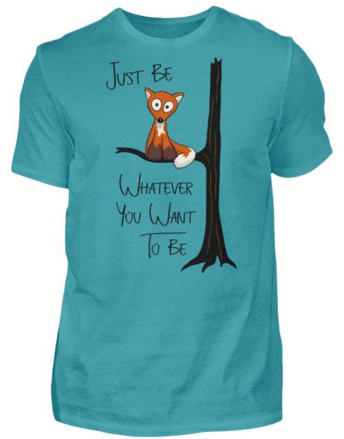 Just Be Whatever | Fuchs wie Eule - Herren Shirt-1242