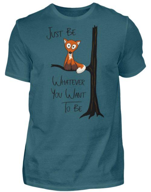 Just Be Whatever | Fuchs wie Eule - Herren Shirt-1096