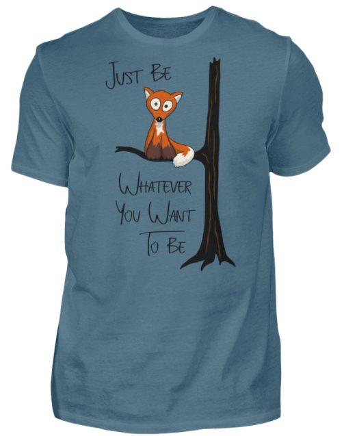 Just Be Whatever | Fuchs wie Eule - Herren Shirt-1230