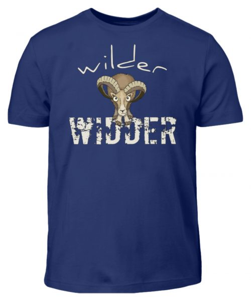 Wilder Widder | Mufflon Cooles Wild-Schaf - Kinder T-Shirt-1115