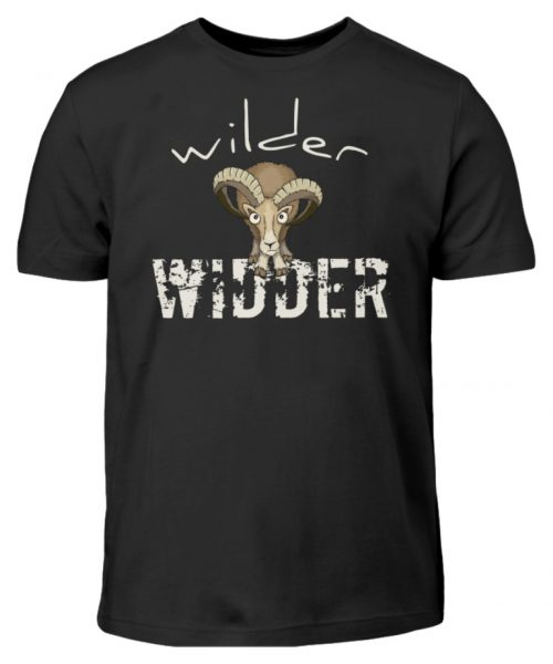 Wilder Widder | Mufflon Cooles Wild-Schaf - Kinder T-Shirt-16