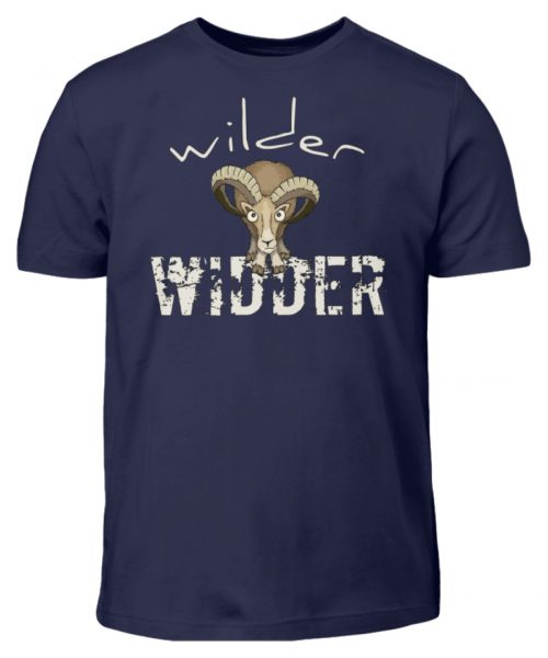 Wilder Widder | Mufflon Cooles Wild-Schaf - Kinder T-Shirt-198