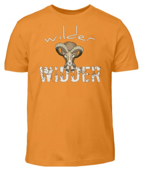 Wilder Widder | Mufflon Cooles Wild-Schaf - Kinder T-Shirt-20