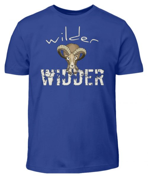 Wilder Widder | Mufflon Cooles Wild-Schaf - Kinder T-Shirt-668