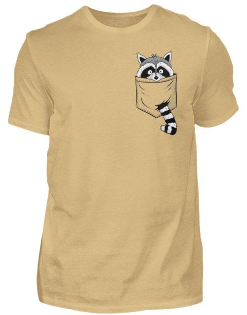 Waschbär in Deiner Brust-Tasche - Herren Shirt-224