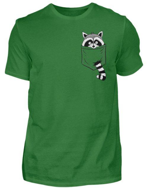 Waschbär in Deiner Brust-Tasche - Herren Shirt-718