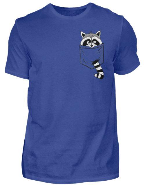 Waschbär in Deiner Brust-Tasche - Herren Shirt-668