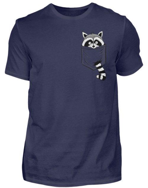 Waschbär in Deiner Brust-Tasche - Herren Shirt-198