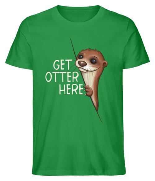 Get Otter Here | Lustiger Otter Kalauer - Herren Premium Organic Shirt-6890