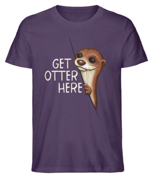 Get Otter Here | Lustiger Otter Kalauer - Herren Premium Organic Shirt-6884