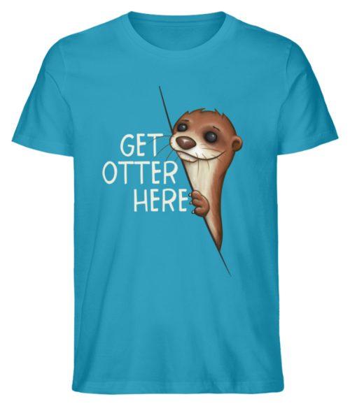 Get Otter Here | Lustiger Otter Kalauer - Herren Premium Organic Shirt-6885
