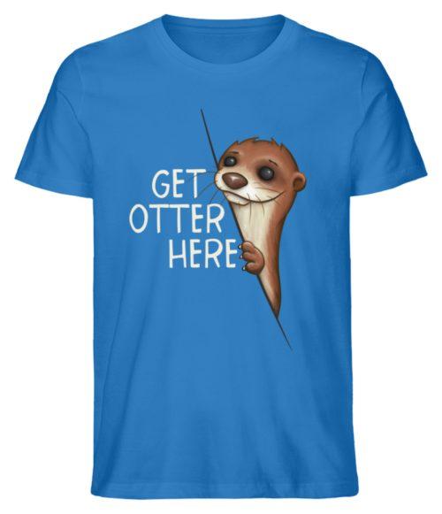 Get Otter Here | Lustiger Otter Kalauer - Herren Premium Organic Shirt-6886