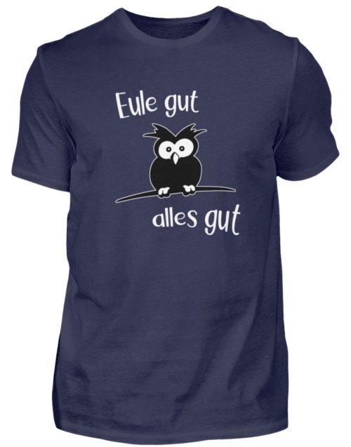 Eule gut, alles gut | witzige Eule - Herren Shirt-198