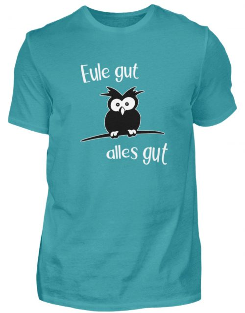Eule gut, alles gut | witzige Eule - Herren Shirt-1242