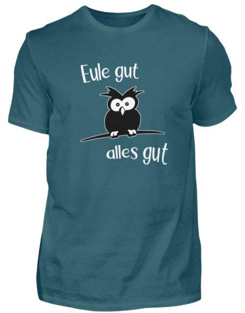 Eule gut, alles gut | witzige Eule - Herren Shirt-1096