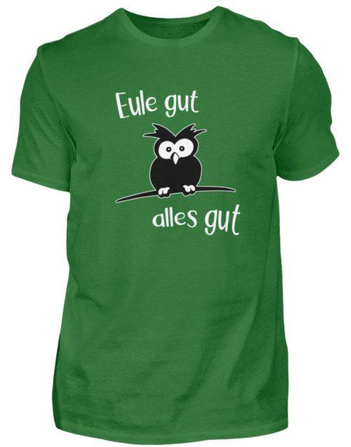 Eule gut, alles gut | witzige Eule - Herren Shirt-718