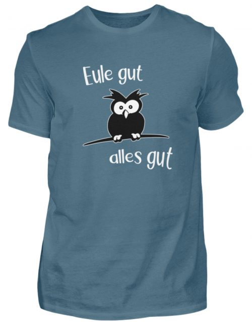 Eule gut, alles gut | witzige Eule - Herren Shirt-1230