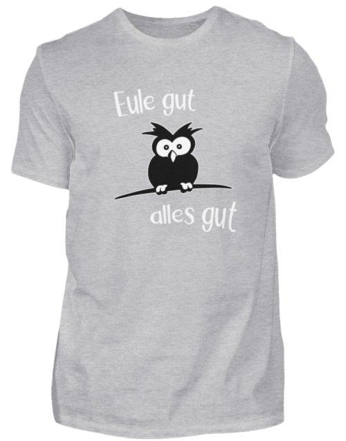 Eule gut, alles gut | witzige Eule - Herren Shirt-17