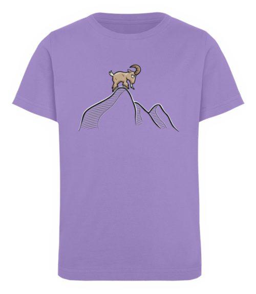 Ziegenbock in den Bergen - Kinder Organic T-Shirt-6904