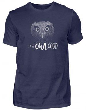 It-s OWL Good | Kritzel-Kunst-Eule - Herren Shirt-198