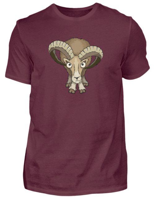 Bockiges Mufflon Widder Schafbock - Herren Shirt-839