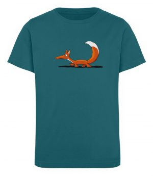 Lässiger cooler Fuchs | Mr. Fox, der Schleicher - Kinder Organic T-Shirt-6889