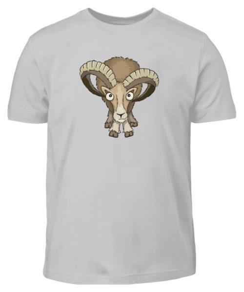 Bockiges Mufflon Widder Schafbock - Kinder T-Shirt-1157