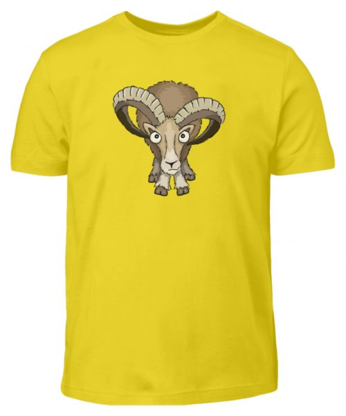Bockiges Mufflon Widder Schafbock - Kinder T-Shirt-1102