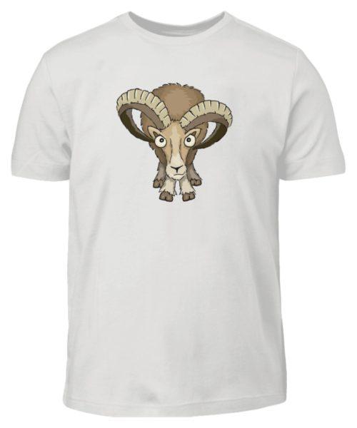Bockiges Mufflon Widder Schafbock - Kinder T-Shirt-1053