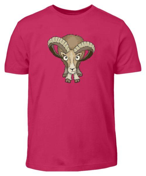 Bockiges Mufflon Widder Schafbock - Kinder T-Shirt-1216