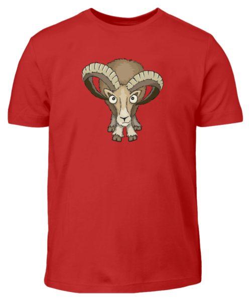 Bockiges Mufflon Widder Schafbock - Kinder T-Shirt-4
