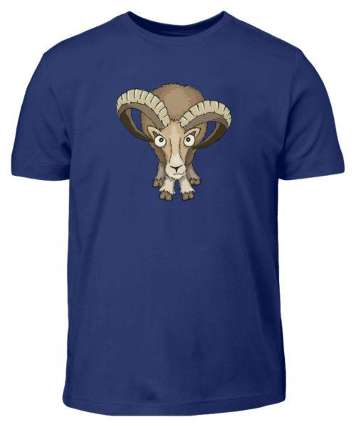 Bockiges Mufflon Widder Schafbock - Kinder T-Shirt-1115