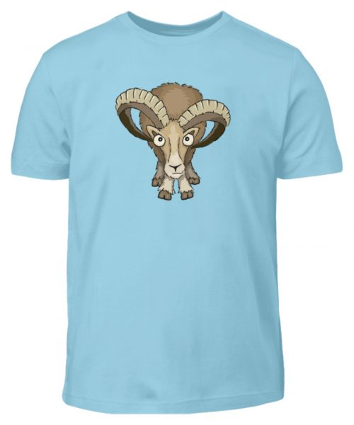 Bockiges Mufflon Widder Schafbock - Kinder T-Shirt-674