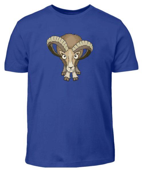 Bockiges Mufflon Widder Schafbock - Kinder T-Shirt-668