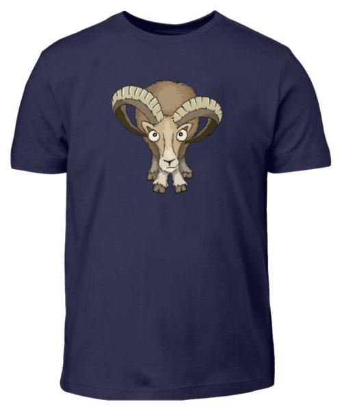 Bockiges Mufflon Widder Schafbock - Kinder T-Shirt-198